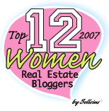 Sellsius Real Estate Blog Announces Their Top 12 Women Real Estate Bloggers For 2007