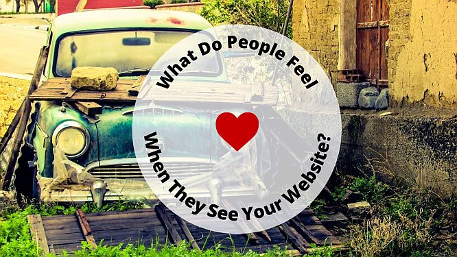 What Do People FEEL When They See Your Real Estate Website?