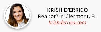 Real Estate Website Design for Krish D'Errico